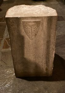 Joan of Arc Dungeon stone