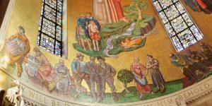 Joseph the Worker mosaic