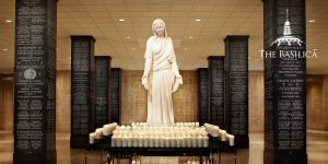 Mary Mother of Mankind statue