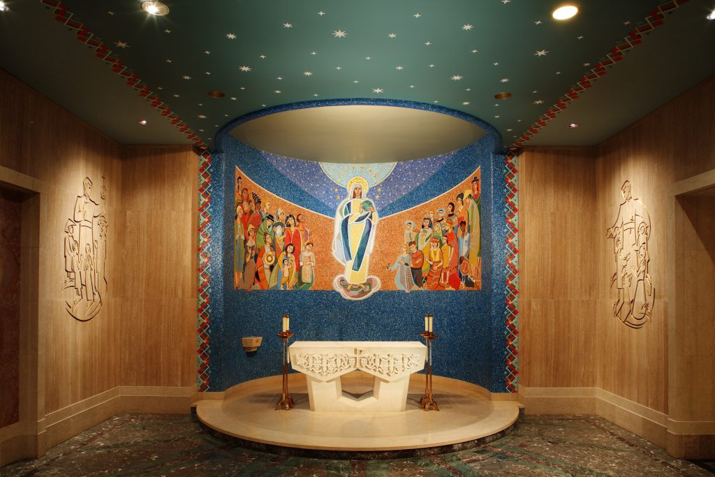 Mary, Queen of Missions chapel