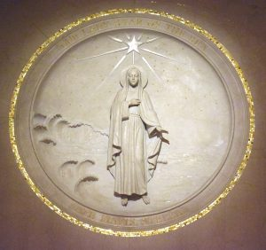 Mary star of the sea rondel