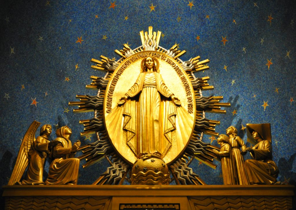 Miraculous Medal - Catherine Laboure