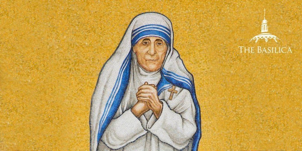 Mother Teresa trinity dome mosaic