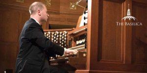 Johann Vexo plays organ at Notre Dame Benefit Concert