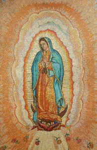 Our Lady of Guadalupe close up