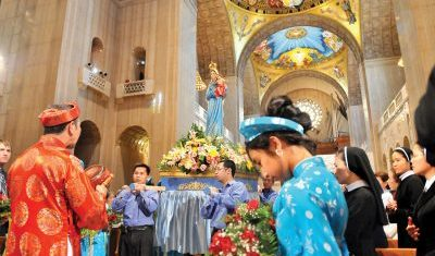 Mass Our Lady of Vietnam