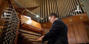 Ben LaPrairie plays the organ