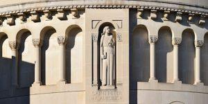 Peter Canisius basilica exterior