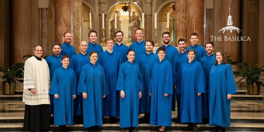 Peter Latona with Basilica Choir
