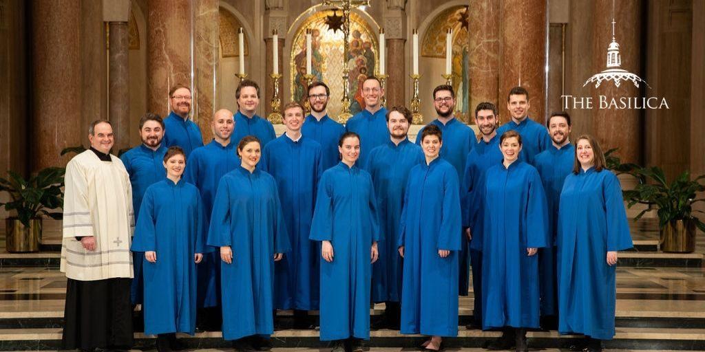 Peter Latona with Basilica Choir