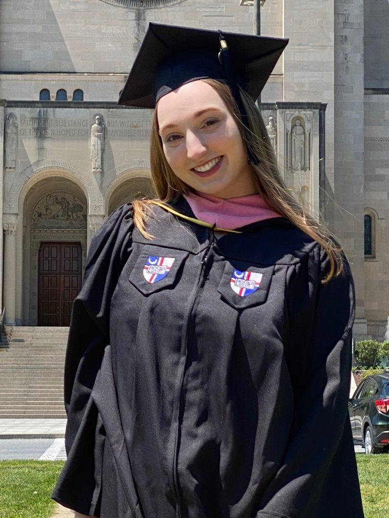 Sophia graduation