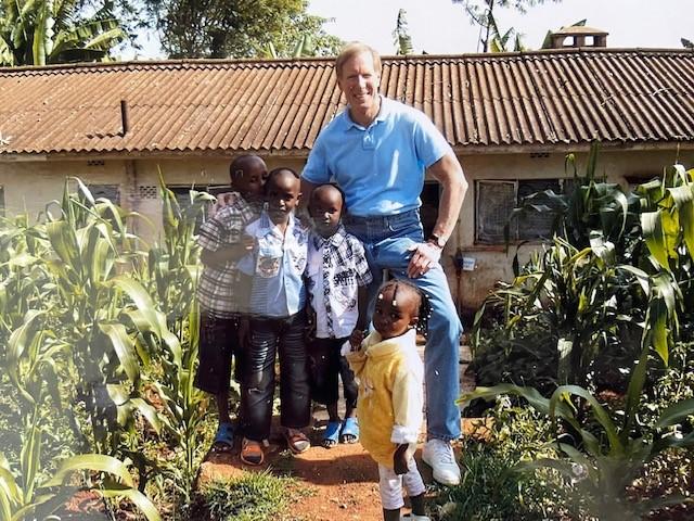Dave Zahren in Kenya