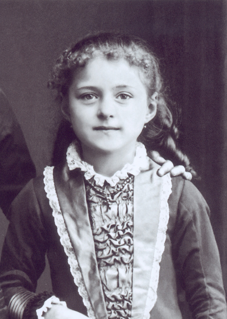 Young Saint Therese