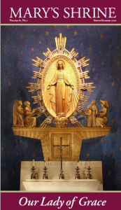 Mary's Shrine Spring/Summer 2020