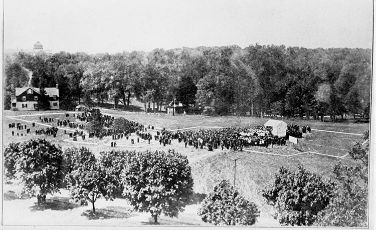Blessing of the Site - 1920 May 16