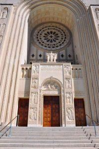 The South Façade (Entrance) of the Basilica
