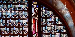 St. Ambrose stained glass