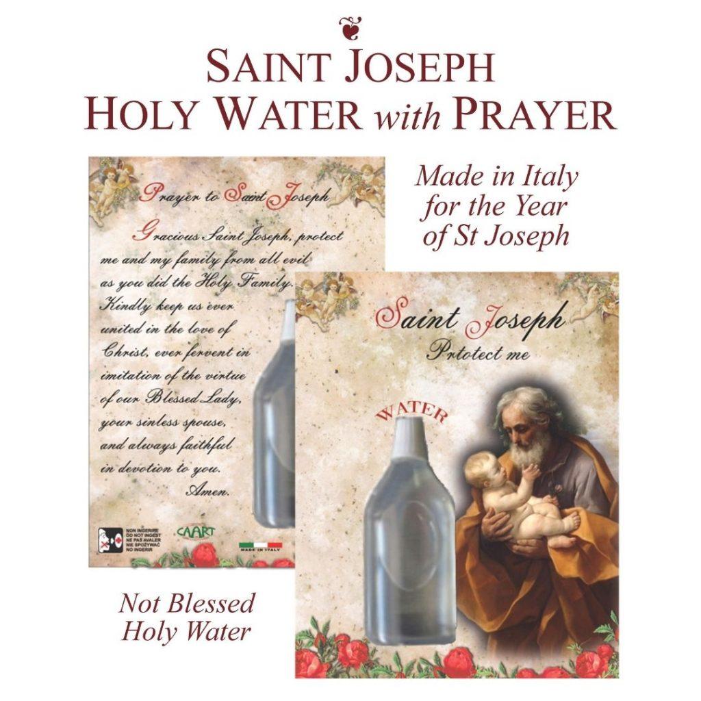 St. Joseph Holy Water