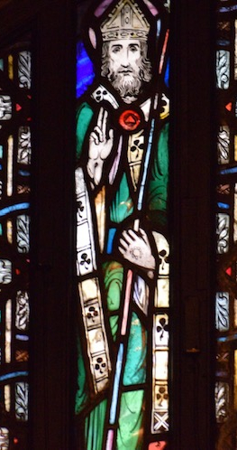 St. Patrick Stained glass