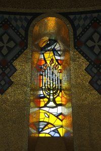 Trinity Dome window candelabra