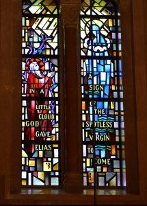 Upper Church West Transept Elijah