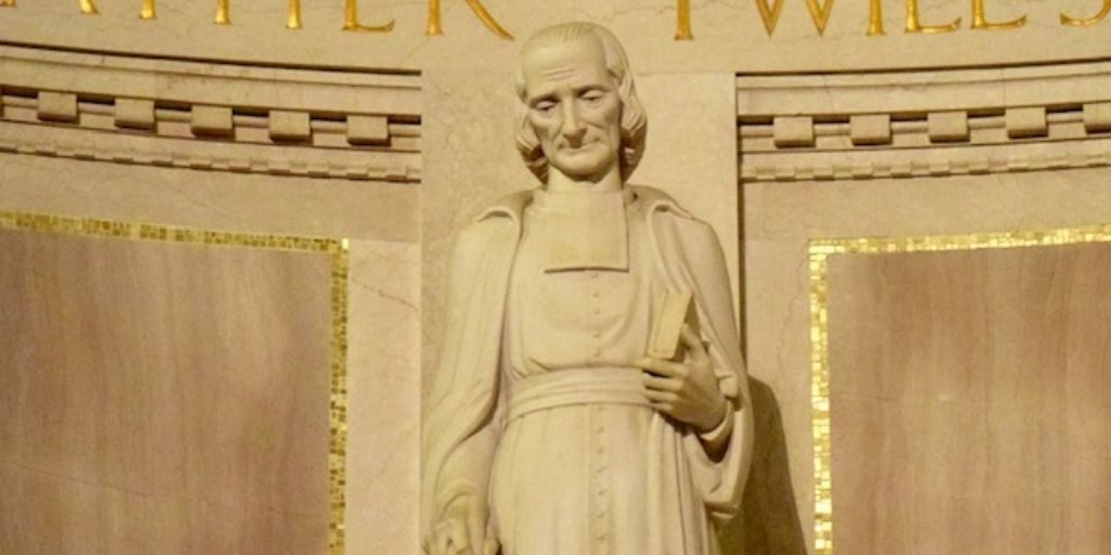 Saint John Vianney in the Basilica