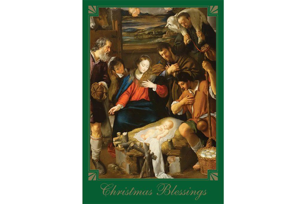 Christmas Novena Enrollment Card