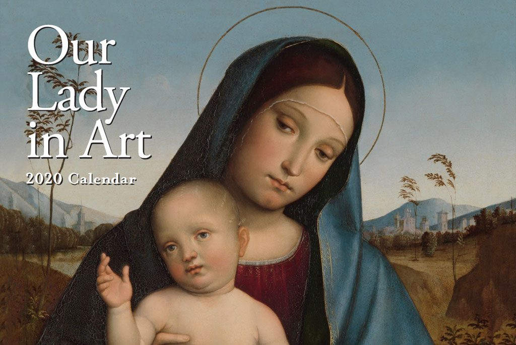 2020 Our Lady in Art Wall Calendar