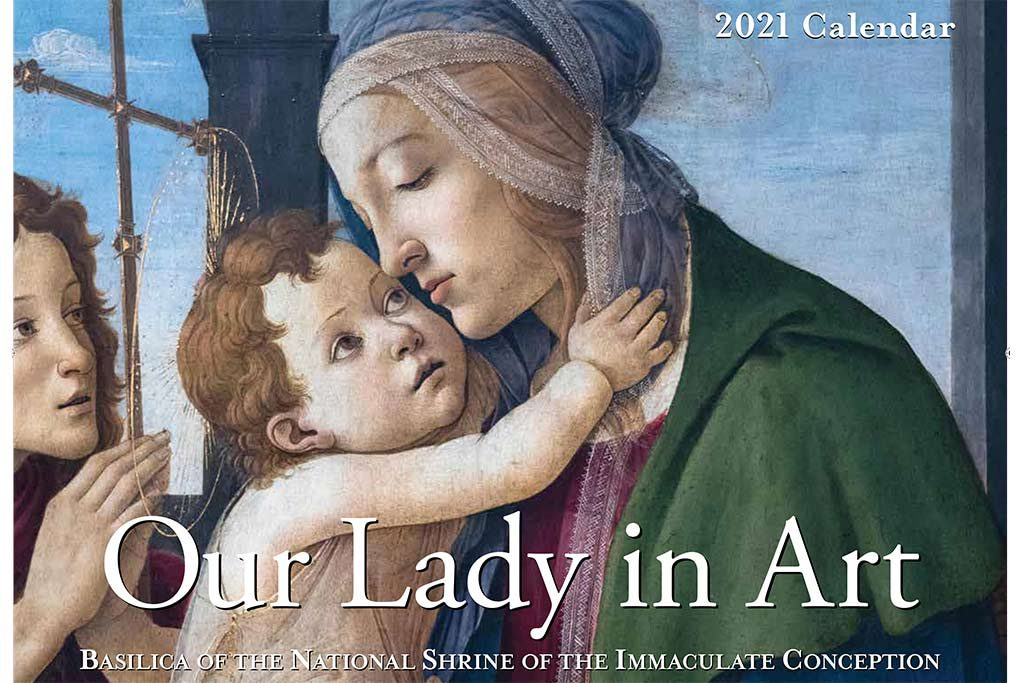 2021 Our Lady in Art Calendar