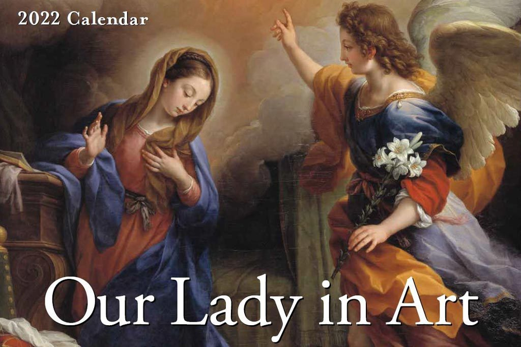 2022 Our Lady in Art Calendar
