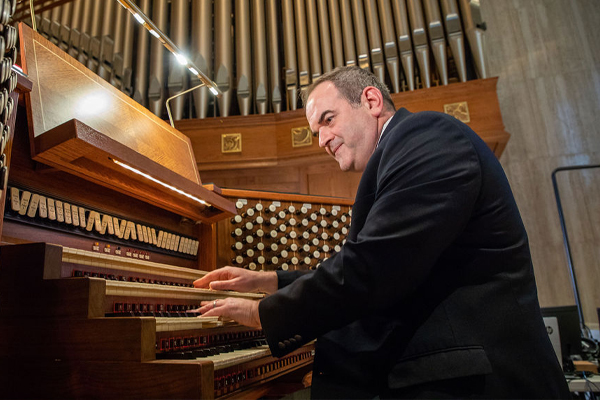 Sacred Music as Vocation: A Conversation with Director of Music Peter Latona