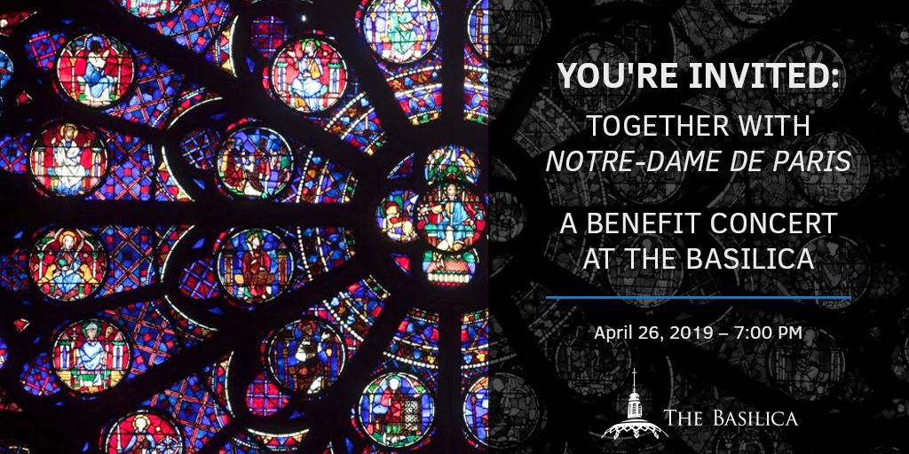 Together with Notre-Dame de Paris: A Benefit Concert at the