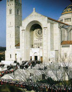 dedication of the national shrine