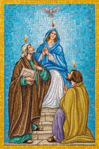 descent of the holy spirit rosary garden