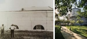 exterior then and now