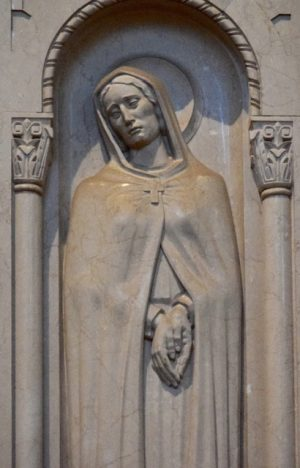 Saint Monica in the Great Upper Church.