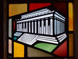 lincoln memorial patroness window