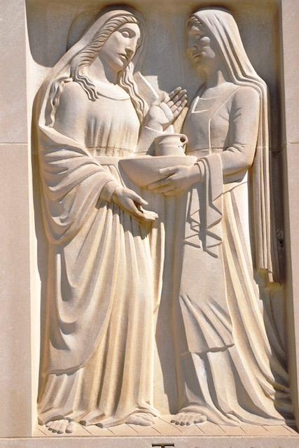 Martha and Mary in Relief