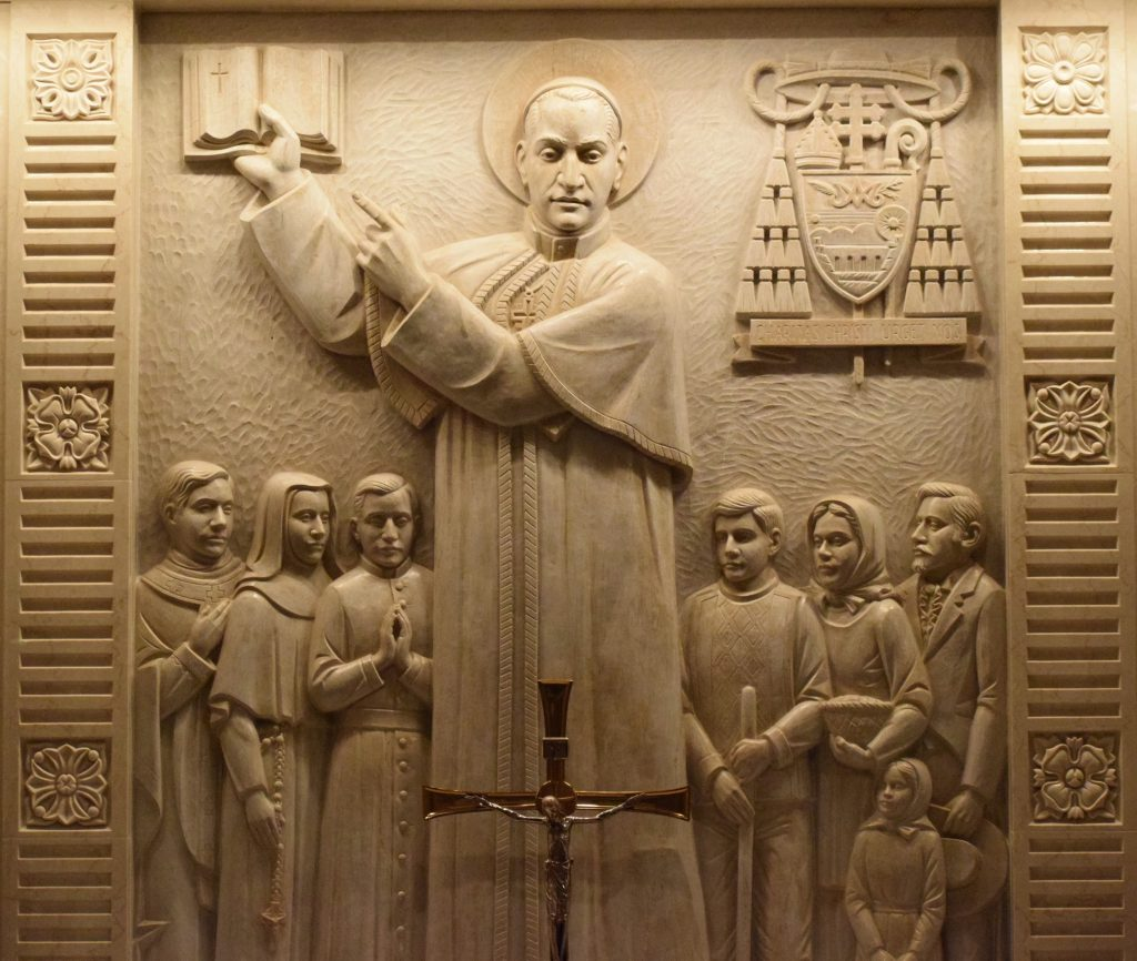 St. Anthony Mary Claret Chapel relief