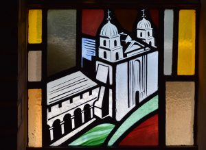 alamo patroness window