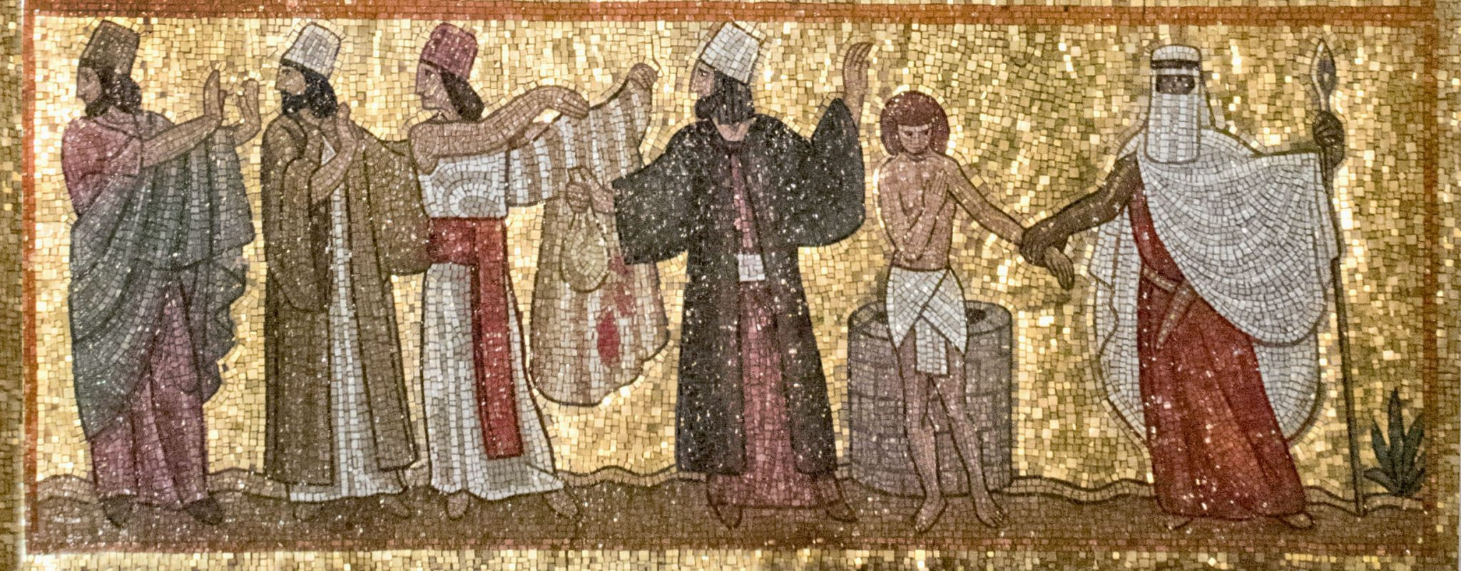 oseph mosaic portion in the Resurrection Chapel