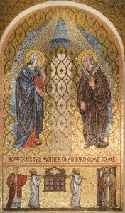 joyful mysteries visitation mary and elizabeth