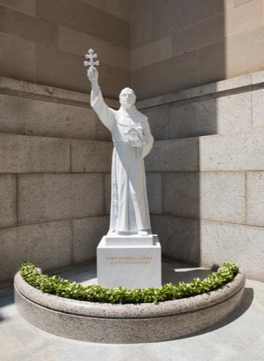 Juniperro Serra statue