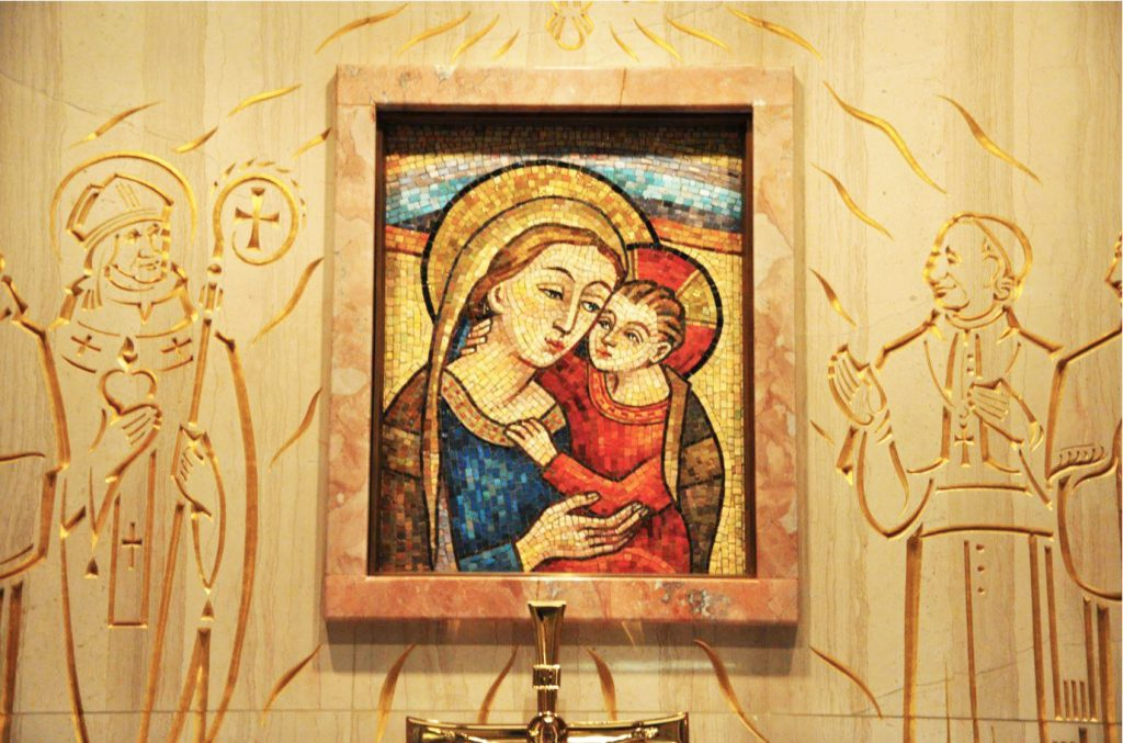 mother of good counsel mosaic