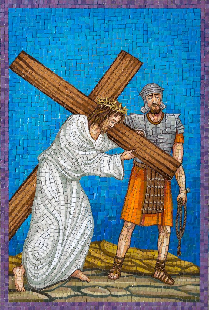 Fourth Sorrowful Mystery: Carrying the Cross